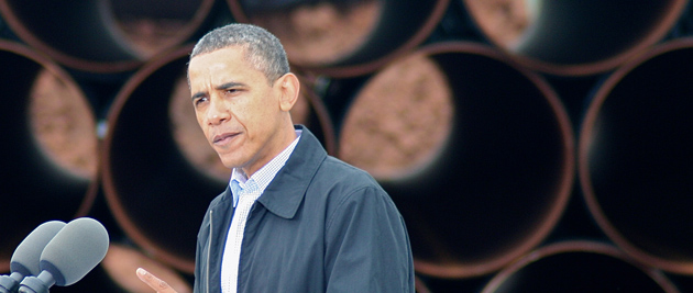 President Obama has to decide whether to approve construction of the Keystone XL pipeline. (Photo credit: Matt Wansley, flickr)