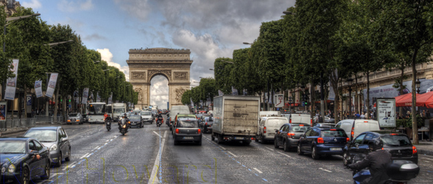 Paris wants to ban diesel cars from its city centre in the battle against air pollution. (Photo credit: Neil Howard, flickr)