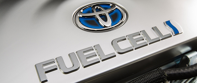 Toyota plans to sell its hydrogen fuel cell vehicles in the United States and Europe later this year. (Photo credit: Toyota UK, flickr)