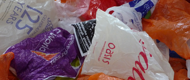 California's ban on plastic bags, which was set to go into effect this summer, has now been delayed. It will go to a referendum in November 2016. (Photo credit: John McGarvey, flickr)