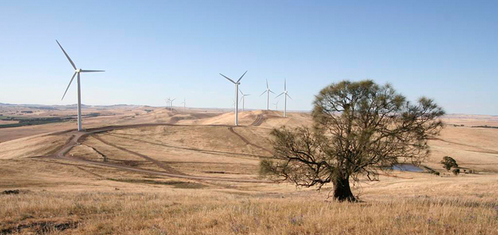 """Prime minister Tony Abbott is not fond of wind turbines. In a radio interview last week he said he found wind farms noisy and """"visually awful"""" and speculated about their potential health impact. (Photo credit: David Clarke, flickr)"""