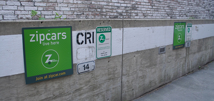City officials are helping car-sharing companies become more popular across the US by allocating them public parking spaces. (Photo credit: Christopher Schmidt, flickr)