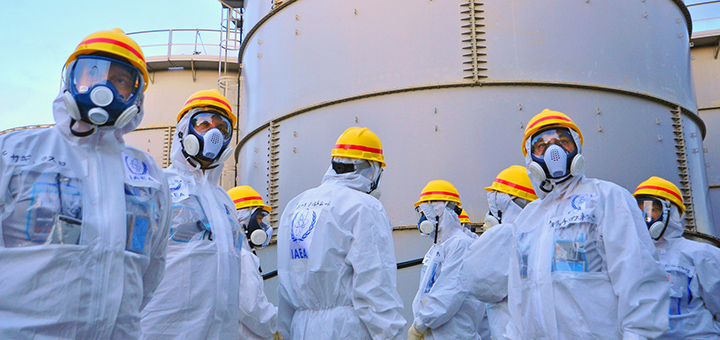 Japanese officials have recognised the first case of cancer linked to the Fukushima nuclear catastrophe, but they refuse to admit a direct causal link between radiation exposure following the 2011 disaster and cancer. (Photo credit: IEAE Imagebank)
