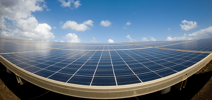 South Africa is set to harness the power of solar energy. George Airport is just the first of many renewable energy projects for the country. (Image credit: Lance Cheung, flickr/Creative Commons)