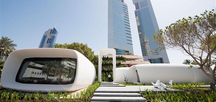 dubai 3D building