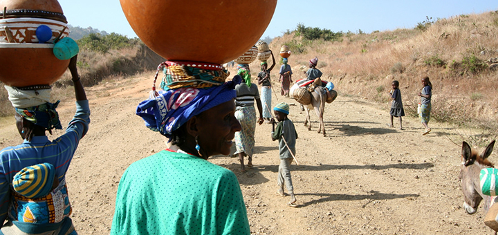 Climate change is pushing Fulani herdsmen into southern Nigeria, leading to deadly disputes with local farmers. (Image credit: Jeremy Weate, flickr/Creative Commons)