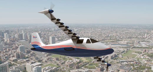 NASA is developing an electric airplane, which could come into commercial use within the next five to 10 years.