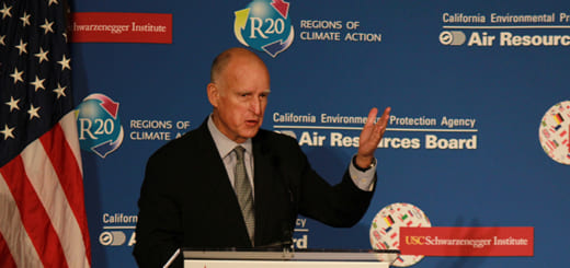 California Governor Jerry Brown wants to extend the state's carbon cap-and-trade programme to 2030. Republicans are opposed. (Image credit: California Air Resources Board, flickr/Creative Commons)