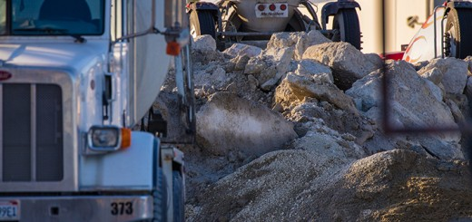 An international team of researchers including UCI Earth system scientist Steven Davis has found that over time, cement reabsorbs a significant portion of the CO2 emitted when the material was manufactured.  Steven Davis / UCI